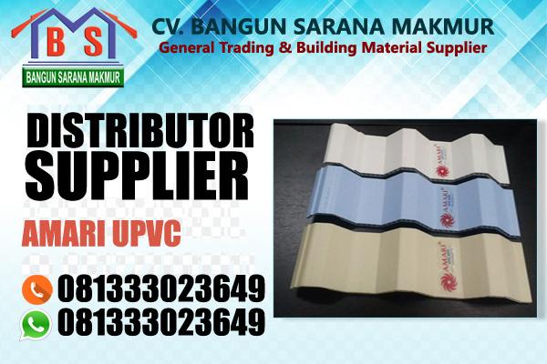 Amari atap upvc dengan ASA teknologi