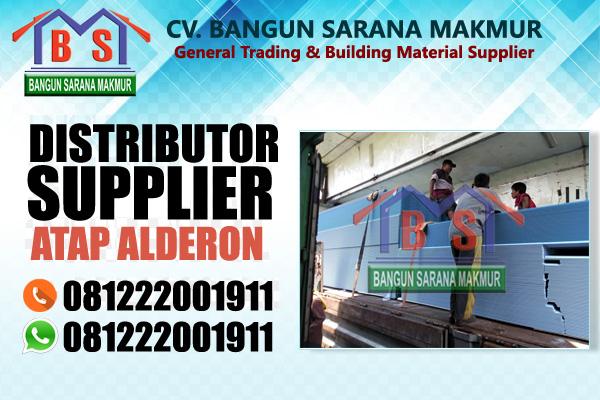 distributor atap alderon untuk pasar