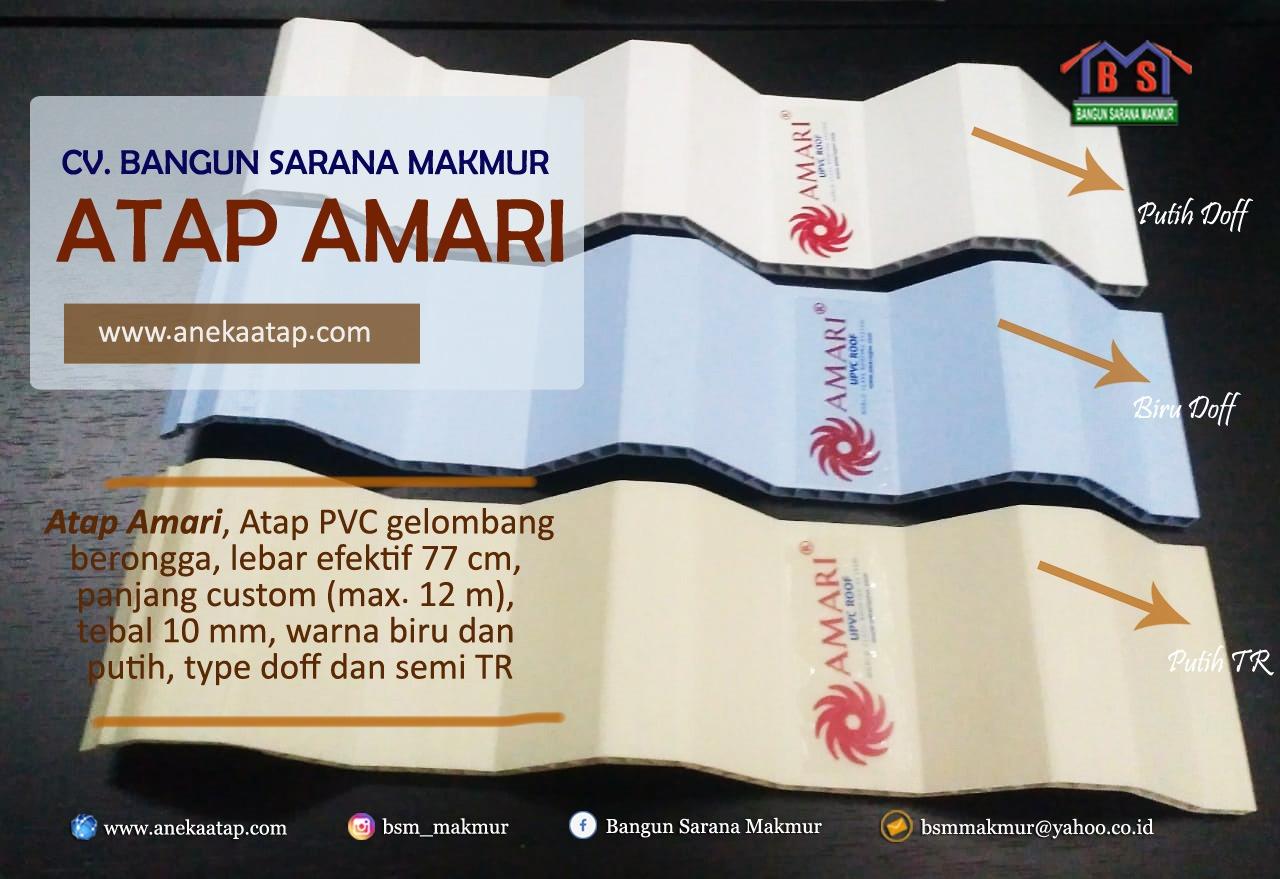 Jual Atap PVC UPVC Surabaya Harga Murah Untuk Kanopi