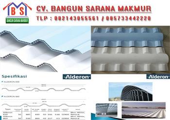 INFO HARGA ATAP ALDERON UPVC - Jual Atap PVC UPVC Surabaya ...